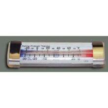 Winco Liquid Freezer/Refrigerator Thermometer 4 3/4 inch