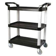Black 3 Tier Utility Cart