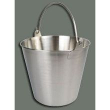 Winco Stainless Steel Utility Pail 13 Quart
