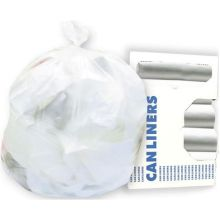 Clear High Density 6 Microns Equivalent Can Liner Roll