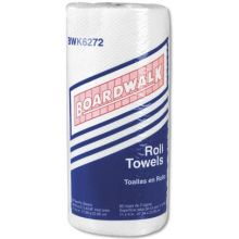 White Household Perforated Paper Towel Roll - 100 sheets per roll