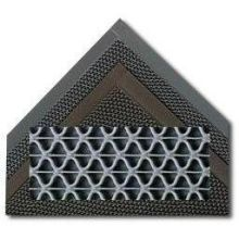 3M Nomad All Seasons Indoor Matting 6250 3 x 5 feet Scraper Mat Granite Ideal for Indoor Foyer Entrances Open Z Design Vinyl Backing Beveled Edges Durable Low-profile Skid-resistant Surface