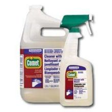 Heavy Duty Comet Cleaner with Bleach 32 Ounce Trigger Sprayer