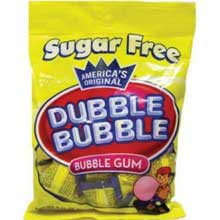 Sugar Free Bubble Gum