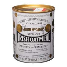 MccannsTraditional Irish Oatmeal Tin