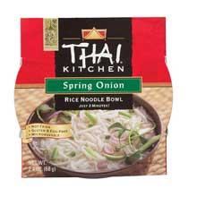 Thai Kitchen Spring Onion Rice Noodle Soup Bowl 2.4 ounce each