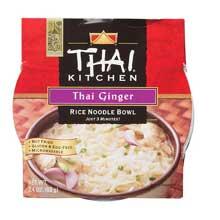 Thai Ginger Rice Noodle Soup Bowl 2.4 ounce each