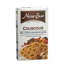Near East Cous Wild Mush/Herb - 5.4 Oz Pack