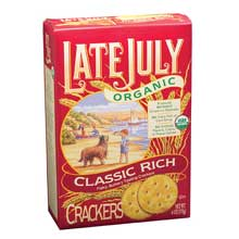 Late July Classic Rich Crackers - 6 Oz Pack