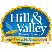 Hill and Valley Decorated Round White Chocolate Cake 19 Ounce