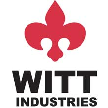 Witt Industries Lock and Key Set for Platinum Security Receptacle