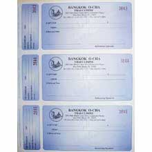 Gift Certificates - Imprinted W/Stubs