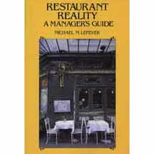 Sale Item Restaurant Reality A Managers Guide By Michael M. Lefever 256Pgs - Paper