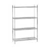 Green Epoxy Wire Shelving Accessories