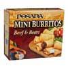 Frozen Posada  Burritos