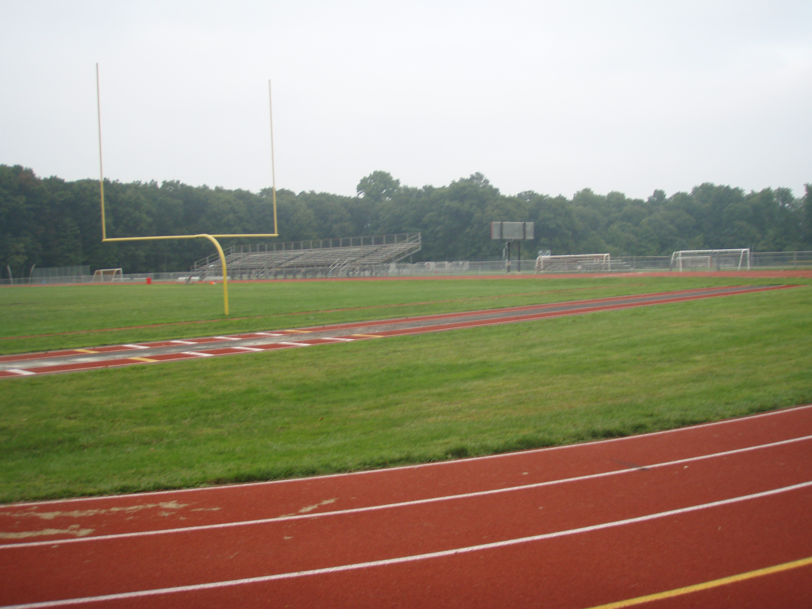 Working out on high school fields to stay sharp is far from life in NFL football facilities for veteran free agents.