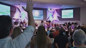 Sunday Morning Worship at Foothills Church in Ahwatukee, Phoenix, Arizona
