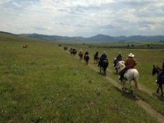 Trail Ride - Hosted by the Friends of the Bar U Historic Ranch Association Images