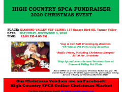 High Country SPCA Christmas Fundraiser Images