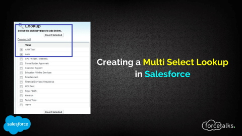 Creating Multi Select Lookup in Salesforce