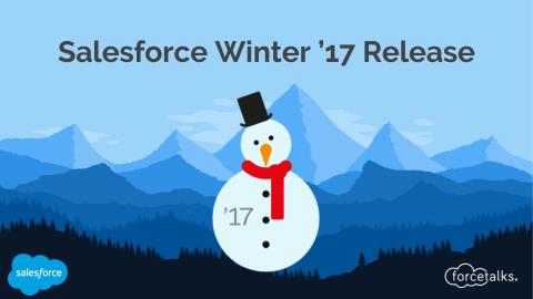 Salesforce Winter '17 Release