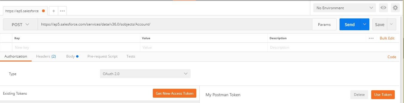 OAuth with Postman