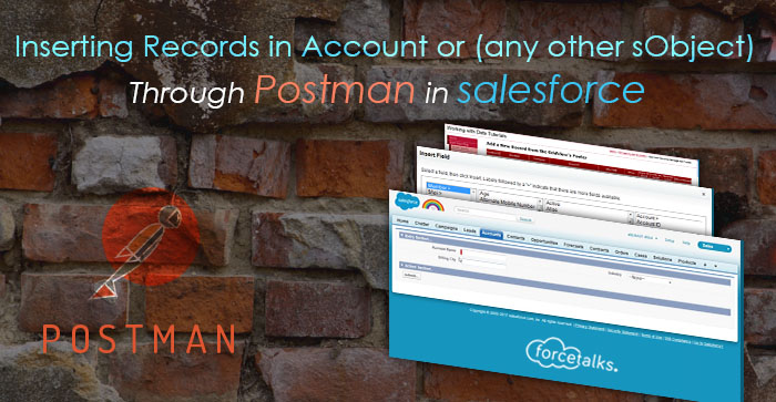 Salesforce | Inserting Records in Account or (any other sObject