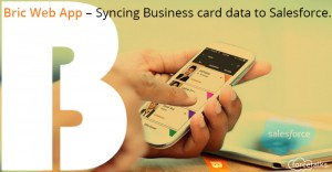 Syncing Business card data to Salesforce . .