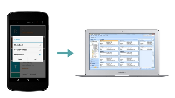 Salesforce scan business cards to outlook in seconds forcetalks untitled design 1 reheart Images