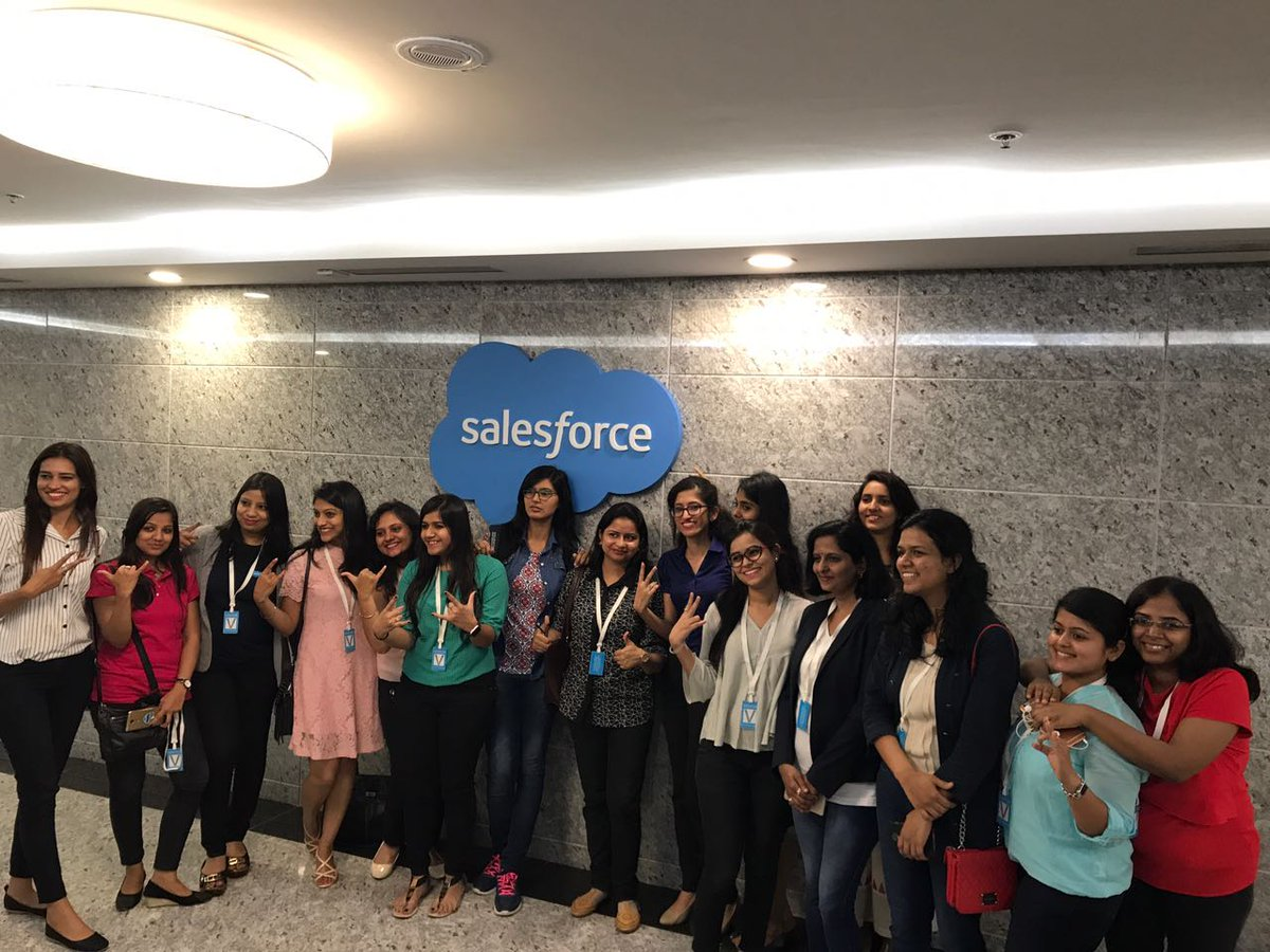 Salesforce – Women in Tech!