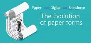 Go Green – Paper to Digital to Salesforce