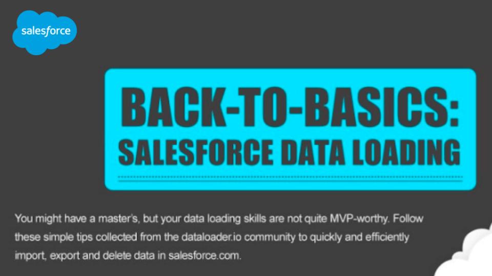 salesforce data loading