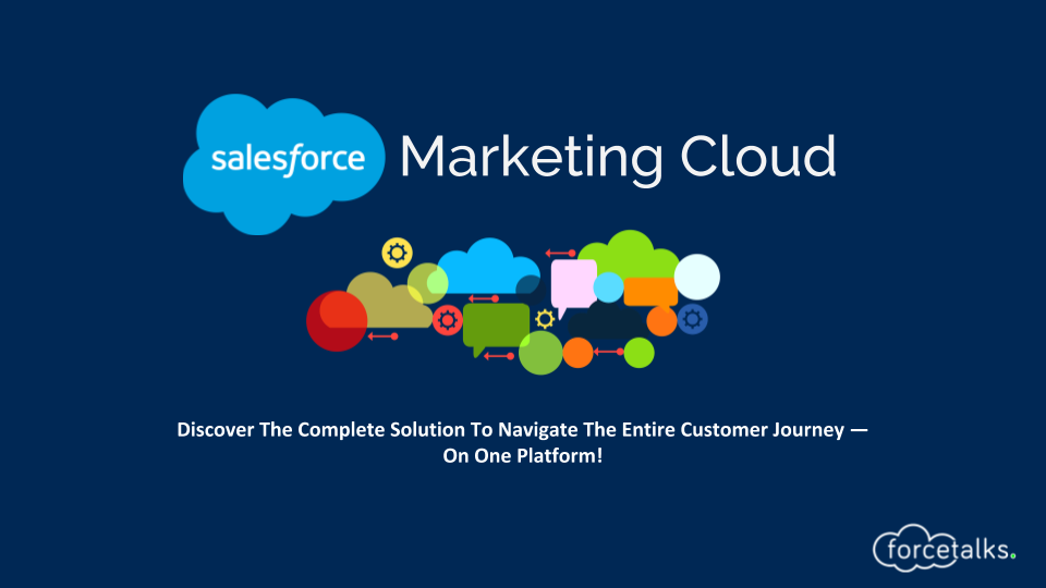 Salesforce Product : Marketing Cloud