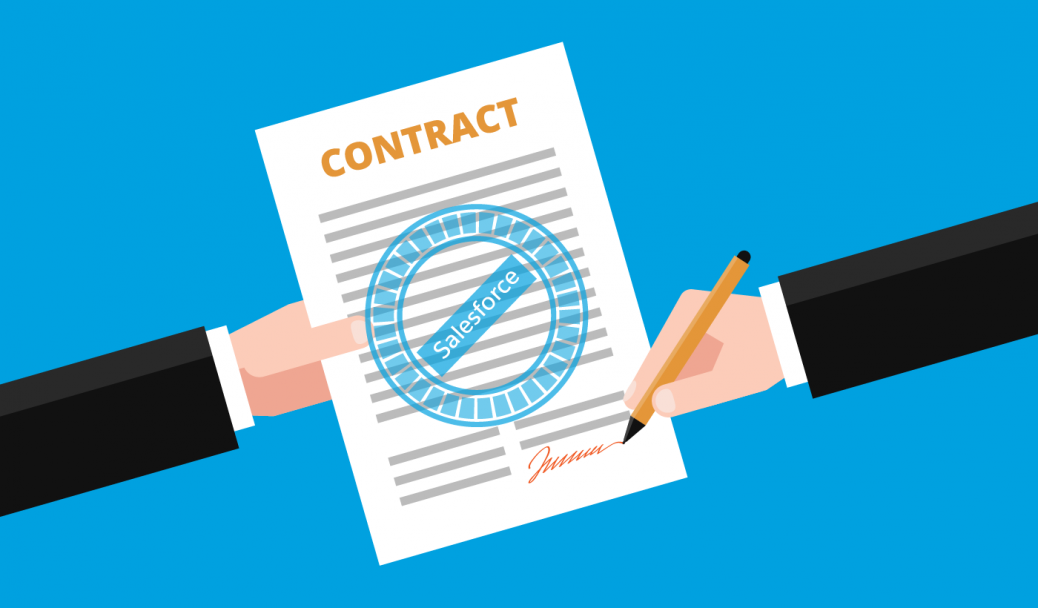Salesforce Step By Step Enhancement Of Salesforce Contract