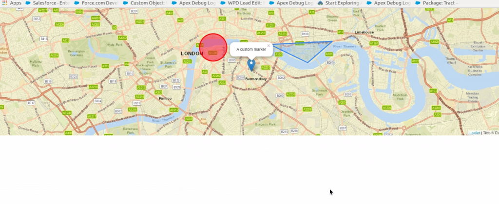 Salesforce | Introduction of Leaflet Map in Salesforce Lightning