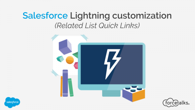 Salesforce Lightning customization - Related List Quick Links