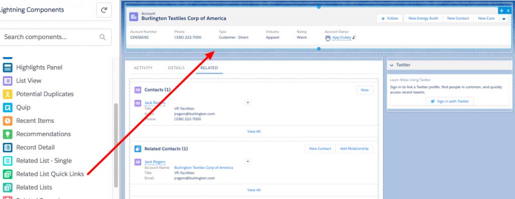 Salesforce | Salesforce Lightning customization – Related List Quick