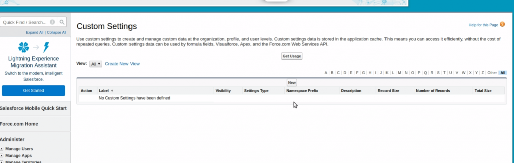 Salesforce | Using Custom Settings in Salesforce – Forcetalks