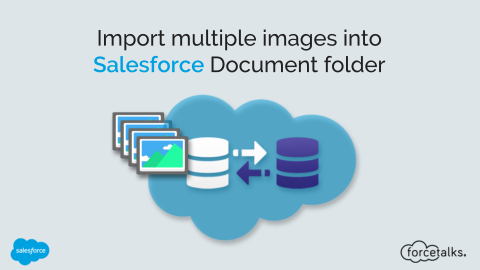 How to Import multiple images into Salesforce Document folder?