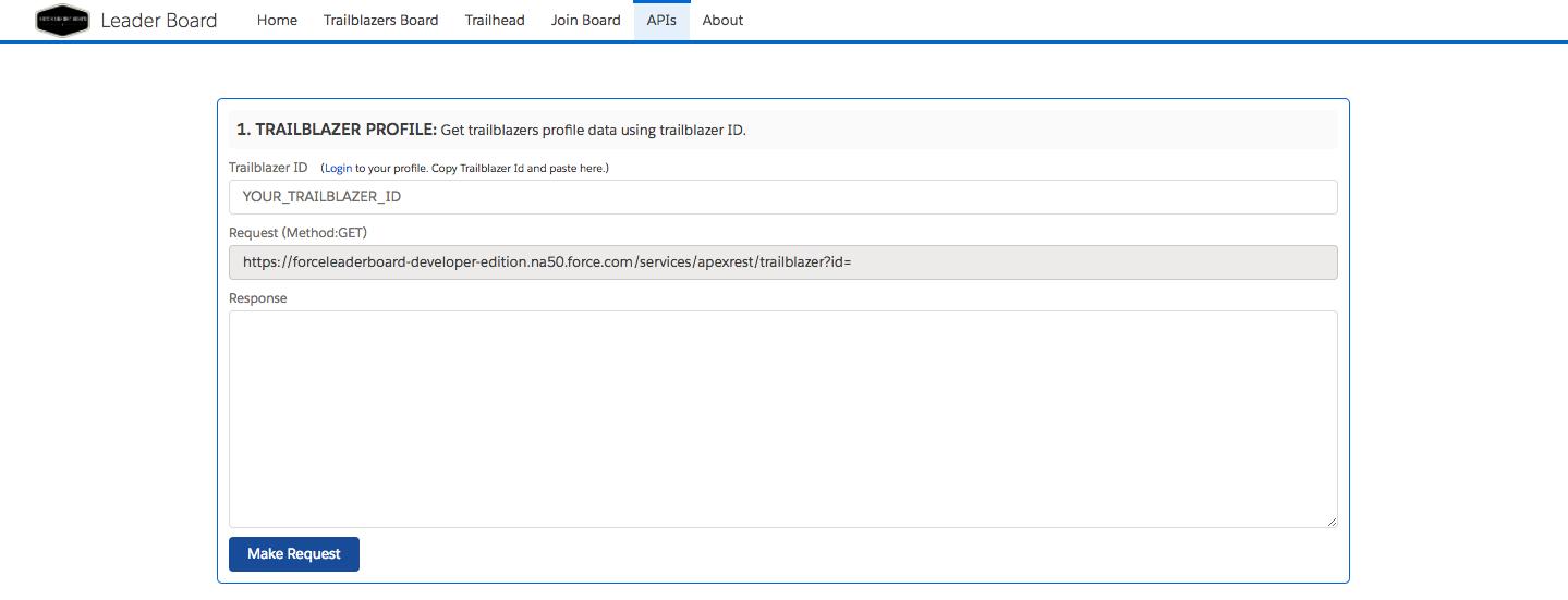 ForceLeaderBoard API