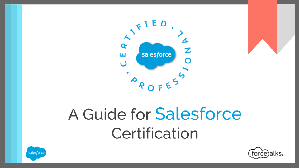 Salesforce Your 1st Step To Become A Salesforce Certified Platform