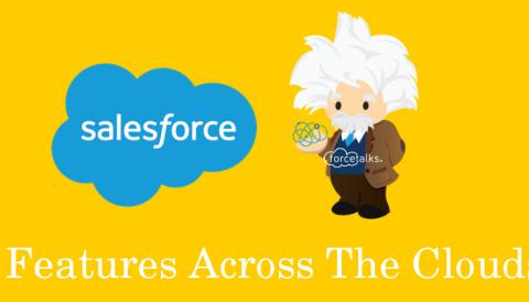 Salesforce Einstein Features Across The Clouds