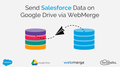 Send Salesforce Data on Google Drive via WebMerge