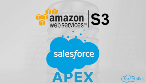 Automate to Upload Files on Amazon S3 Through Salesforce Apex