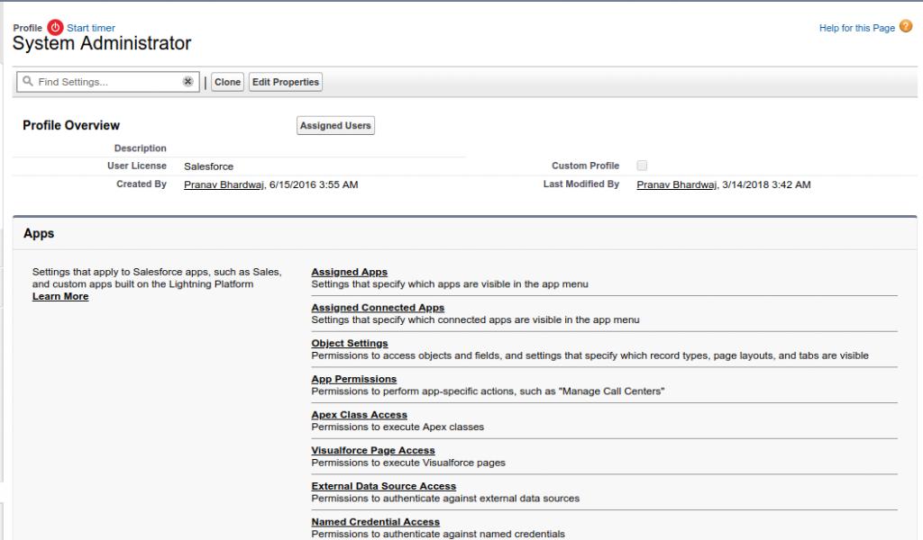 Enabling Enhanced Profile Interface