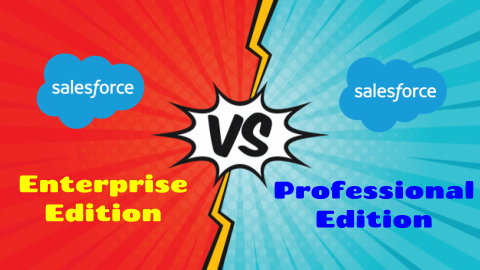Differences Between Salesforce Enterprise Edition and Salesforce Professional Edition