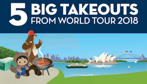 5 big takeouts from Salesforce World Tour 2018
