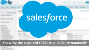 How to Show The Required Fields in Salesforce Picklist Dynamically?