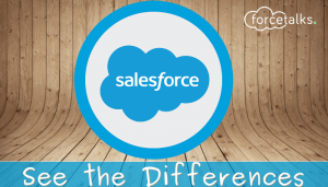 Some Common Differences in Salesforce