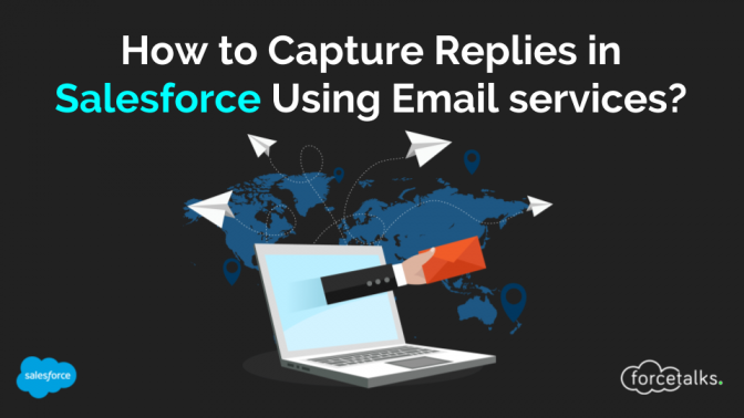 How to Capture Replies in Salesforce by using Email services?